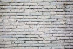 Grå färgtegelstenvägg Arkivbild