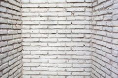 Grå färgtegelstenvägg Arkivfoton