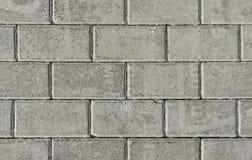 Grå förberedande sten av rektangulär form Arkivbild