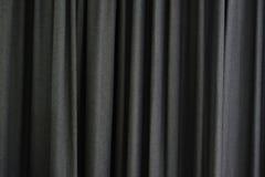 Grå gardin Fotografering för Bildbyråer