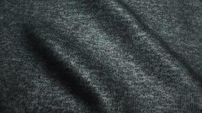 Grå högkvalitativ jeanstextur, flyttande vågor, sömlös ögla lager videofilmer