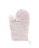Grå handske för ugn Arkivfoto
