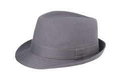 grå hatt Fotografering för Bildbyråer