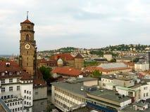 Grå himmel av Stuttgart 1 Royaltyfri Bild