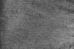 Grå jeanstextur för abstrakt ny grov bomullstvill Fotografering för Bildbyråer