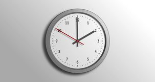 Grå klocka, för nolla-` för 2 e.m. klocka, begagnad körning