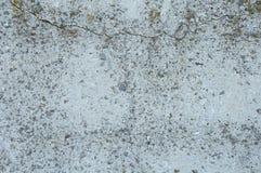 Grå konkret texturbakgrund skada Sprucken stenväggbakgrund arkivfoto