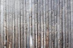 Grå ladugårdvägg Arkivfoto