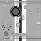 grå linje Arkivfoton