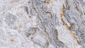 Grå lockig marmor Royaltyfri Foto
