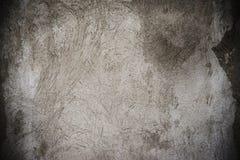 Grå målarfärgväggvigniette Arkivbilder