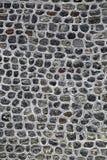 Grå naturlig stenvägg Royaltyfri Fotografi