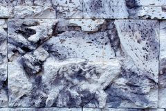 grå rocktextur för bakgrund Detaljen vaggar strukturen Royaltyfria Foton