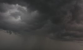 grå sky Arkivfoto