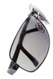 grå solglasögon royaltyfria foton