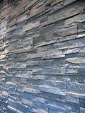 grå stenväggwhite Royaltyfri Fotografi