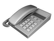 grå telefon Royaltyfri Illustrationer