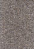 Grå textiltextur Royaltyfria Bilder