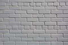 Grå textur för tegelstenvägg, bakgrund Royaltyfri Fotografi