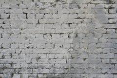 grå texturerad vägg för bakgrundstegelsten Royaltyfri Foto