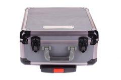 grå toolbox Arkivfoto