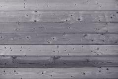 Grå träbakgrund Arkivfoton