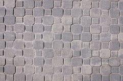 Grå trottoartexturbakgrund Royaltyfri Fotografi