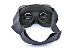 Grå virtuell verklighethörlurar med mikrofon Royaltyfri Foto