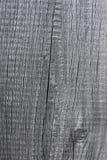 Grå wood bakgrundsnärbild, gammal svart tavla Arkivfoto