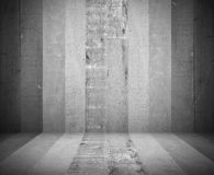 Grå wood rumtexturbakgrund - visa dina produkter Fotografering för Bildbyråer