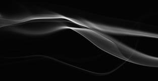 Gråa abstarctvågor Arkivbilder