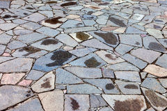 Gråa förberedande stenar Royaltyfria Bilder