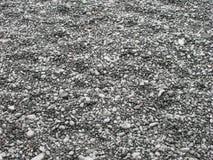 Gråa Pebbles Arkivfoto