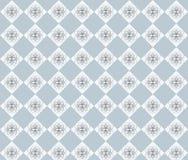 gråa rhombuses Arkivfoto