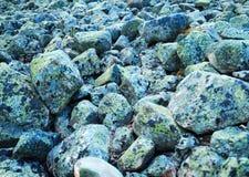 gråa rocks Arkivfoton