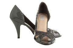 gråa skor arkivbilder