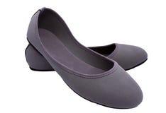 gråa skor Royaltyfri Fotografi