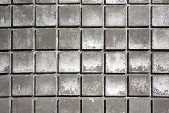 gråa tegelplattor fotografering för bildbyråer