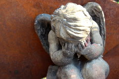 Gråta ängel Royaltyfri Foto