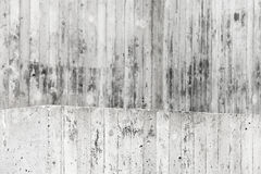 Grått grungy väggar och golv, konkret inre Royaltyfria Foton