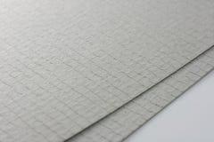 grått papper sheets två Royaltyfri Bild