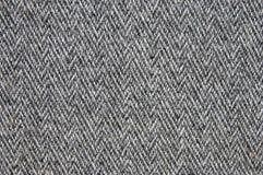 grått woollen för tyg Fotografering för Bildbyråer