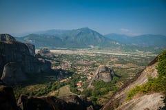 2016, Grèce Meteora, beau paysage des monastères de Meteora Images libres de droits
