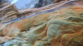 Grès érodé, image abstraite naturelle de paysage images stock