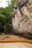 Grès au parc national Bornéo de Bako photos stock