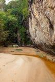 Grès au parc national Bornéo de Bako photographie stock