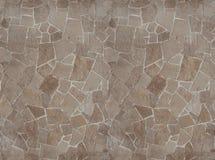 Grès de dalle pavant la carte sans couture de texture pour les graphiques 3d Photographie stock libre de droits
