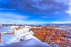 grès de formations de gorge de bryce Photo stock