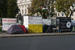 Grève à Londres Photographie stock libre de droits