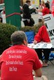 grève 0n Images stock